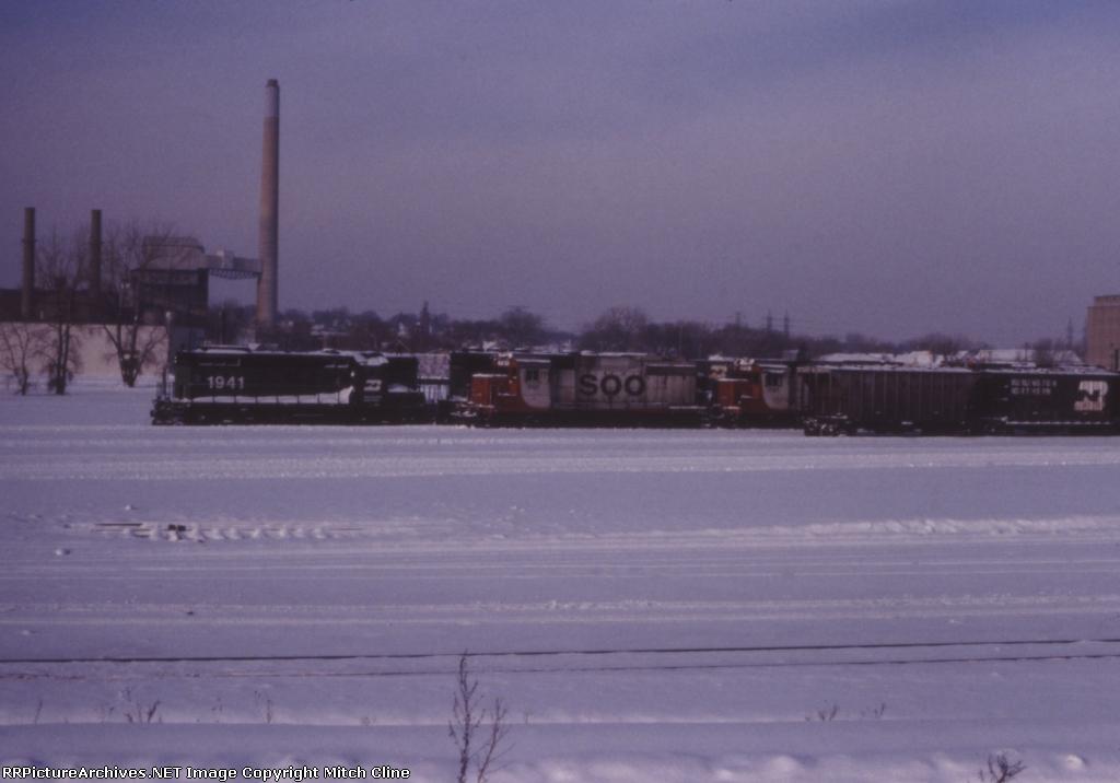 Winter Railroading
