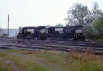 NS power in the yard