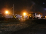 Power sitting in Augusta Yard