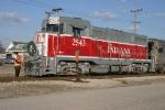 INRD 2543/Santa Train