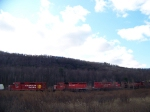Canadian Pacific 7307, 5671, 5690, and 9669