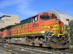 BNSF 4789 Southbound At Tower A
