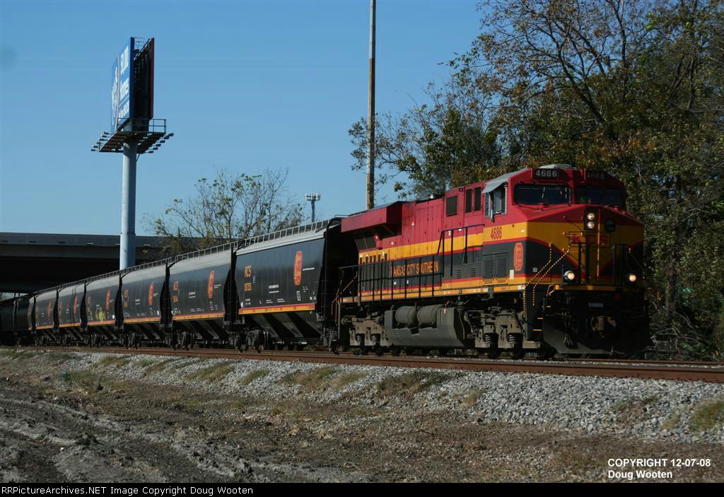 Empty Tex-Mex Grain Train