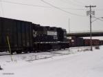 NS 5158 leaving Buffalo Junction Yard