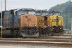 CSX 4756 and stable mates