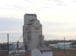 grain elevator at Hudson Bay
