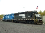 Norfolk Southern 3036 and 5265