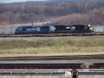 Norfolk Southern 8349 and 2602