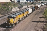 Westbound transfer comes uphill