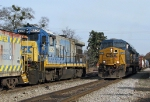 CSX oldest and newest GE's