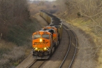 BNSF 5898 east