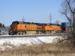 BNSF 5331 and BNSF 8240