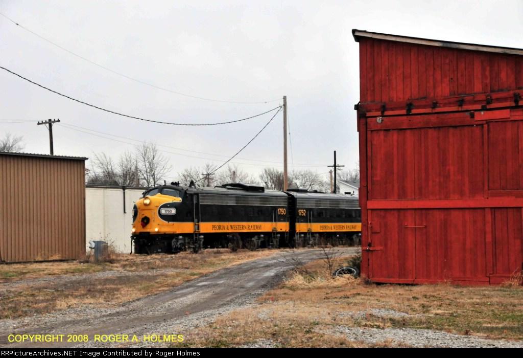 Peoria & Western Santa Train