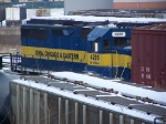 ICE 4205 Shunts Cars in the IC&E Yard
