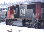 CN 5770 Chillin' in the Yard on Christ's Birthday