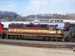 WC 3010 Shoves Cars in the CN Yard