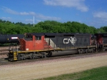 Classic Lead Power on a CN Freight Manifest