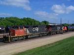 CN Manifest Gets Assembled in the Yard