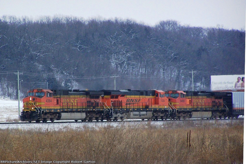 Lots of GE Power on a Manifest Train