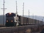 BNSF 9705 Moves Empties West