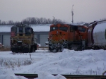 CIC 96 & BNSF Power Rest at IEI Barge Services
