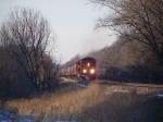 BNSF 4792 Leads a Grain Train East on the Aurora Sub