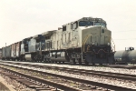 Northbound manifest prepares to depart the TRRA Madison Yard