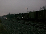 NS 6624 in the dark fog