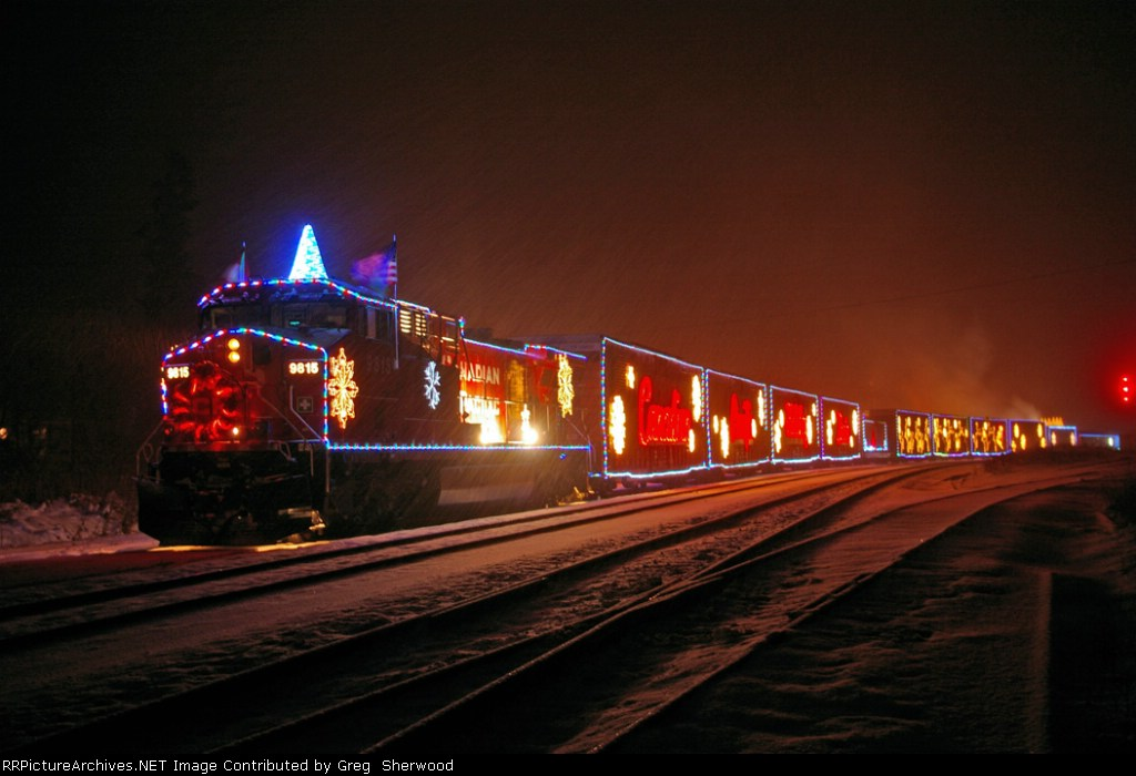 CP 9815 CPR Holiday Train