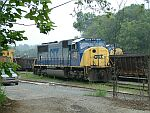 CSX 702 and MOW equipment