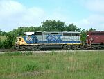 CSX 6052 is on duty for National Starch