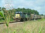 CSX Train Q675