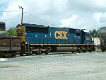 Freshly painted CSX 8503