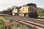 Southbound hopper train