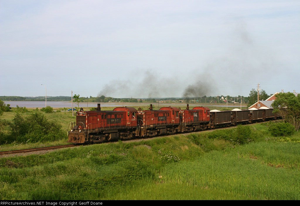 Last Stand For the MLW RS-23s on Gypsum Trains