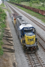 CSX local crew gets ready to switch refinery