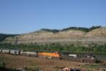 NS 9514 heads towards Mingo with an empty train