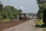NS 9830 westbound through Ohio's industrial wonderland
