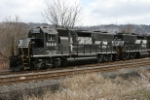 NS 5668 with a local in the small Martins Ferry yard