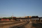 NS 9795 pulls a short train into Kentucky