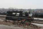 NS 5805 at Campbell Street yard