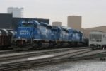 Neat solid set of Conrail SD-40-2