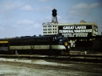 SB  B&O Cincinatian out of Toledo Central Union Terminal 1960????