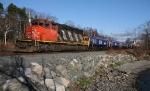 Export Locomotives Headed Dockside