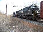 Norfolk Southern 9504 and 8825
