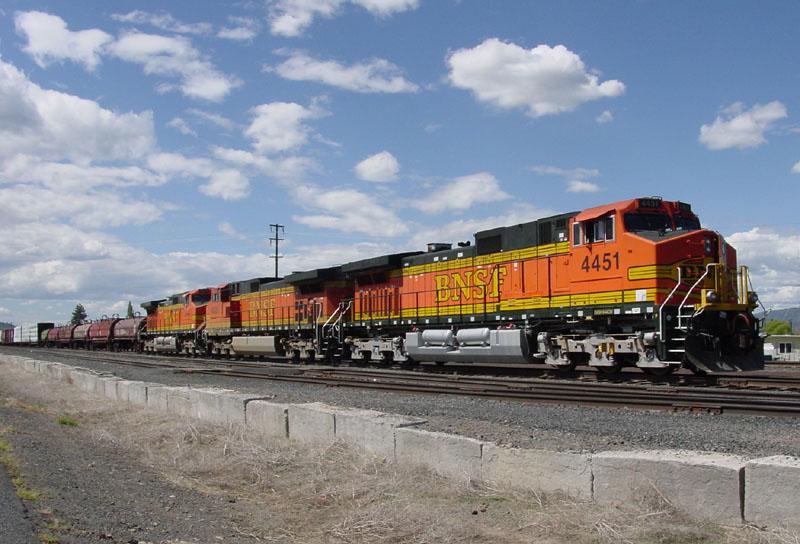 Train waiting at Klamath Falls