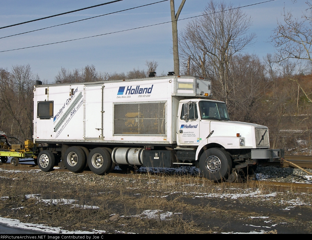 Holland Rail Welding truck