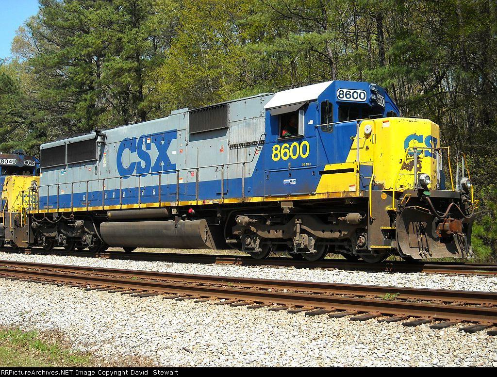 CSX SD50-2 8600