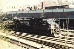 Westbound work train