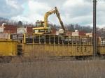 Former Conrail Tie Crane